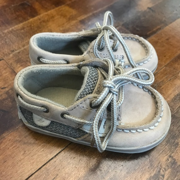 Baby Girl Sperry Boat Shoes Size